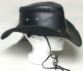black description genuine leather western cowboy hat black 2695 you