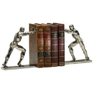 Silver Iron Man Bookends