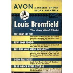 (Avon Modern Short Story Monthly, No.24) Louis Bromfield Books