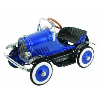 Dexton Llc Deluxe Blue Roadster Pedal Car Blue Explore similar items