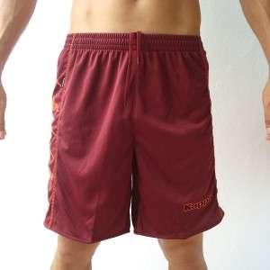 KAPPA Mens Football Soccer Jersey Shorts Maroon M L XL