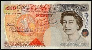 ENGLAND/GREAT BRITAIN 50 POUNDS 2006 P388c UNCIRCULATED