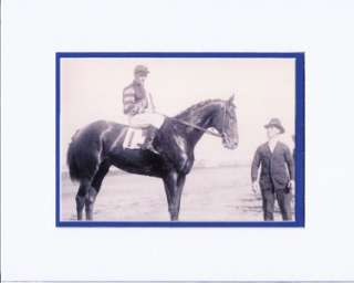 MAN O WAR CHAMPION RACE HORSE TRIPLE CROWN DMT PRINT