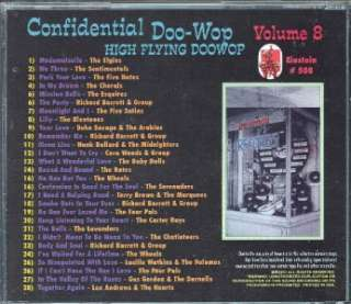 CONFIDENTIAL DOO WOPS VOL 8 CD 28 TRACKS NEW
