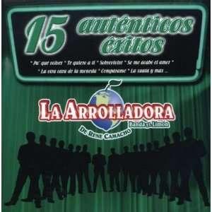 15 Autenticos Exitos Arrolladora Banda El Limon, Rene