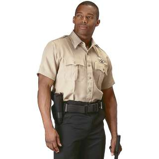 Genuine Khaki Police & Security Issue Uniform Law Work Shirt