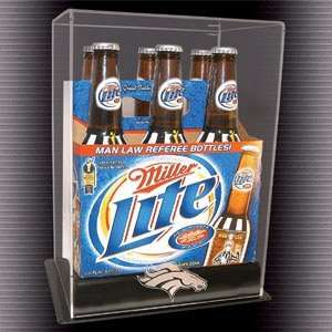 Six Pack Long Neck Bottle Display Case Health & Personal
