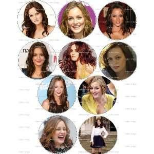 LEIGHTON MEESTER Pinback Buttons 1.25 Pins Gossip Girl Blair Waldorf