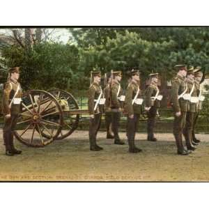 Machine Gun Section of the Grenadier Guards Photographic