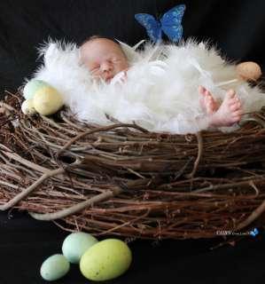 HBN * PROTOTYPE Reborn Baby SANDRA WHITE * Just Hatched