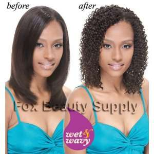 Janet Collection Indian Remy Afro Jerry Wet&wavy 14 Inch