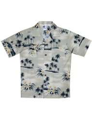 Plumeria Island Boys Hawaiian Aloha Cotton Shirt