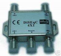 High Quality 4x1 DiSEqc Auto Switch for FTA Receiver