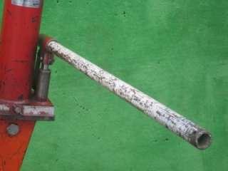 TON LONG RAM BOOM LIFT HOIST CHERRY PICKER SHOP CRANE