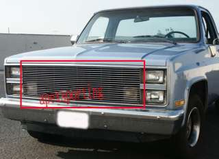 81 87 86 Chevy GMC Pickup/Suburban Billet Grille Grill