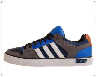 Adidas Ledge Low St Street Style Blue Grey White 2011 Mens Casual