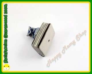Miniature Figurine Ceramic Animal Bird Statue Owl & Book Blue