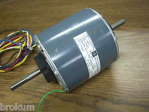 GE GENERAL ELECTRIC MOTOR 5KCP39PG 9965S 1/2HP 1PH 1400/1120/965 RPM
