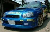 04 05 IMPREZA WRC RALLY STYLE FRONT FENDERS WIDEBODY