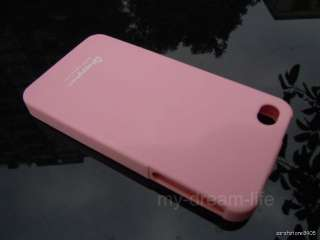 Lovely HAPPYMORI Sherbet Topping Silicone Back Case for Apple iPhone 4