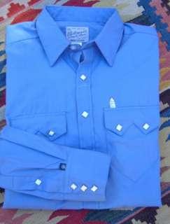 6940p Peri Rockmount Western Cowboy Dress Shirt Sm