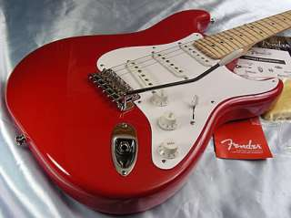 06 Fender Eric Clapton Signature Stratocaster American Strat USA Red