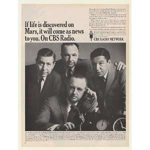 1967 Walter Cronkite Douglas Edwards Dallas Townsend Mike