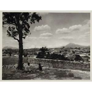 1931 Landscape View Guatemala City Central America