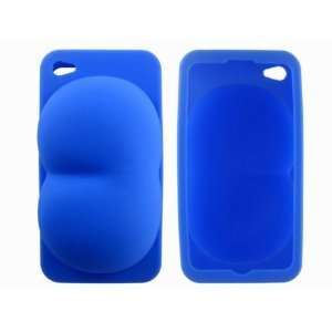Cute Funny Silicone Skin Cover Case for iPhone 4 4G Cell