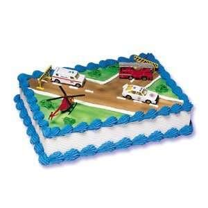 Bakery Crafts Emergency Vehicles Cake Kit