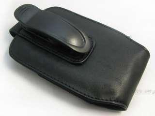 Leather Case Pouch Belt Clip BLACKBERRY 8800 9000 8300