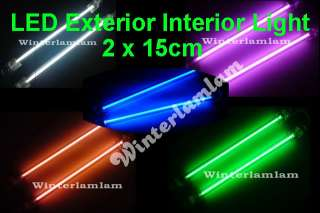 Blue 90cm 36inch Flexible Under Car LED 45 Strip Neon Lights