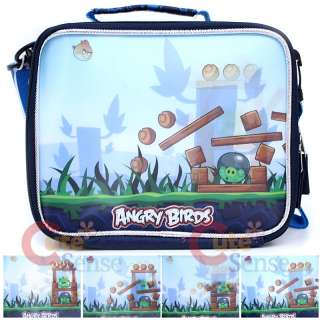 Angry Birds School Backpack Lunch Bag 3D Attack Lenticular 5