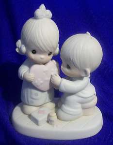 Vintage Hes The Healer Of Broken Hearts Precious Moment Figurine