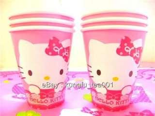 6pcs Sanrio Hello Kitty Birthday Party Paper Cups Mugs