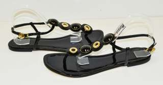 Tory Burch Black Patent Sandal Woman Shoes Sz 11 M*