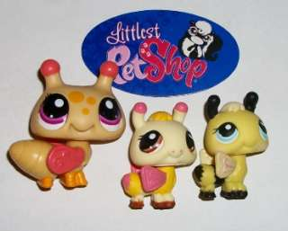 FAMILY Mom & Baby Lot~#1914 1708 201 CUTE~Littlest Pet Shop A82