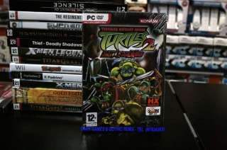 TEENAGE MUTANT NINJA TURTLES 2 BATTLE N. PC DVD WIN ITA