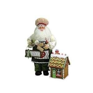 Karen Didion Kitchen Santa and Gingerbread House