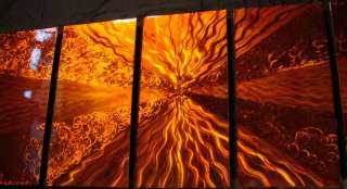 PAINTING ABSTRACT ART WALL METAL STEEL SCULPTURE MODERN