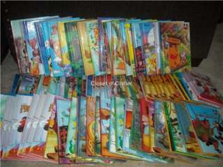 Disneys Wonderful World of Reading Hardcover Books