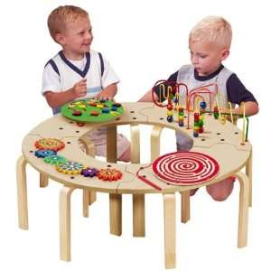 Table Circle Fun play activities entertainment designed
