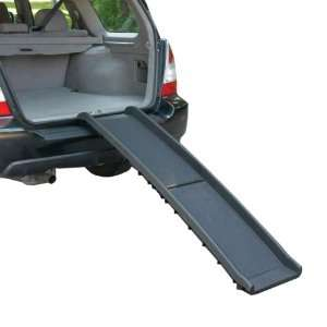 Guardian Gear Plastic Vehicle Dog Ramp, Black