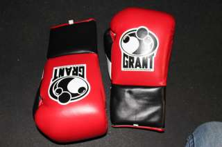 Grant Professional Pro Fight Boxing Gloves 10oz+Free MOUTHGUARD WITH