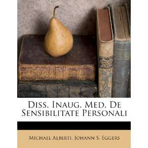 Personali (9781248360026): Michael Alberti, Johann S. Eggers: Books