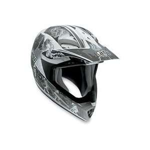 AGV MT X HELMET   EVOLUTION (X LARGE) (SILVER): Automotive