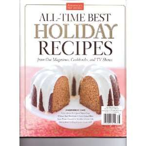 HOLIDAY RECIPES   Americas Test Kitchen All Time Best