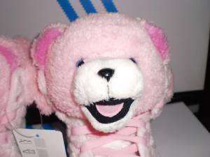 ADIDAS JS BEAR S 8.5 PINK TEDDY OBYO JEREMY SCOTT WINGS