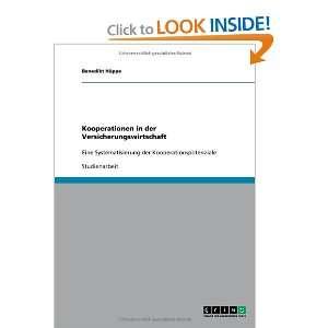 der Kooperationspotenziale (9783640317349) Benedikt Huppe Books