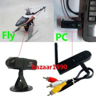 Wireless 2.4G VIDEO CAMERA FOR Airplane Helicopter Fly